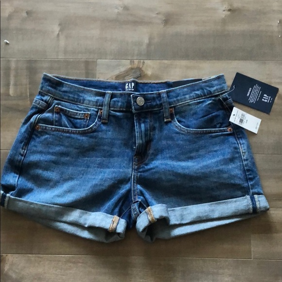 GAP Pants - 💥2 for $30 SALE! GAP NEW Mid rise jean shorts